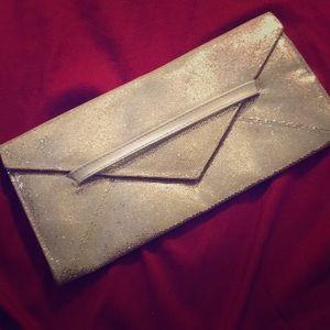 Victoria's secret sequined clutch purse